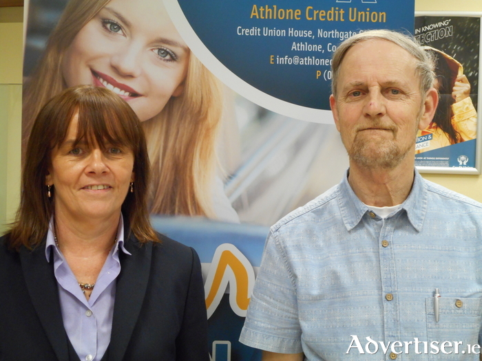 Catherine Egan, Athlone Credit Union Manager, and director Seamus McKenna