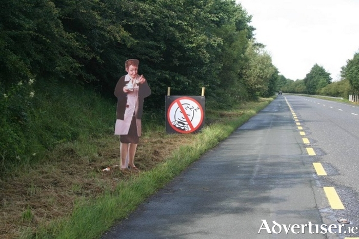 Motorists will be urged to take a break if they feel tired on roads around Mayo this weekend.
