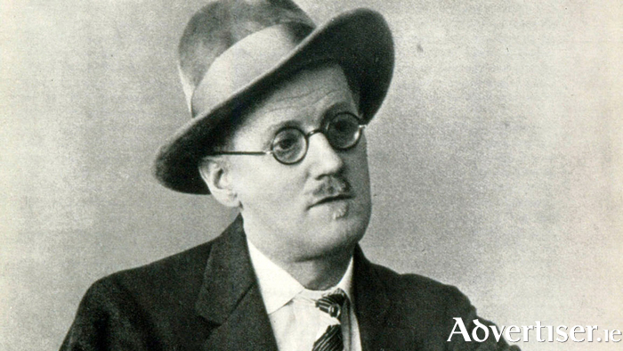 James Joyce.