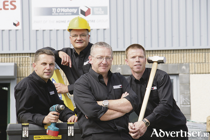 Pat Power, Manager - Cahir Branch Mike Cushing, Manager - Gort Branch Shane Minogue, Manager  – Oranmore Branch Mike Spelman, Assistant Manager  – Oranmore Branch  			 Photo:-Mike Shaughnessy