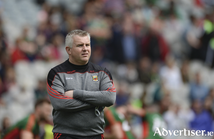 The biggest test so far: It's a big day for Stephen Rochford tomorrow. Photo: Sportsfile