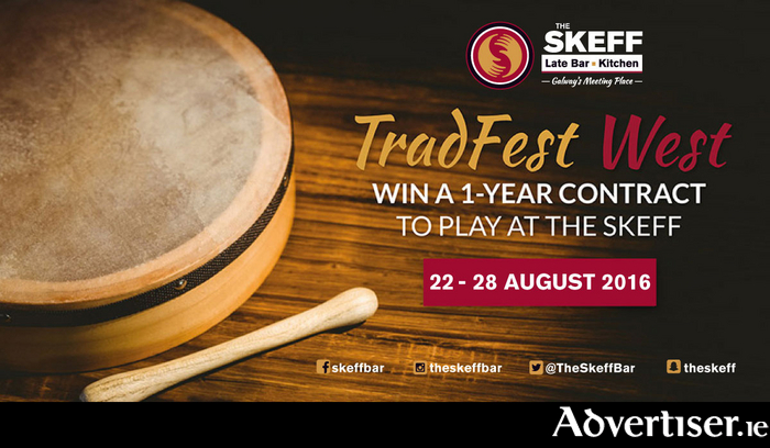 Advertiser ie - The Skeff Launches TradFest West, €15,000