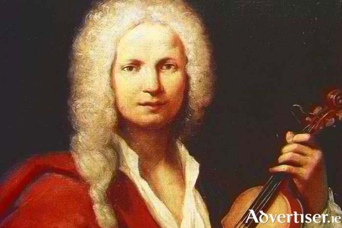 Vivaldi, whose music will be performed at tonight's concert in the Galway cathedral.
