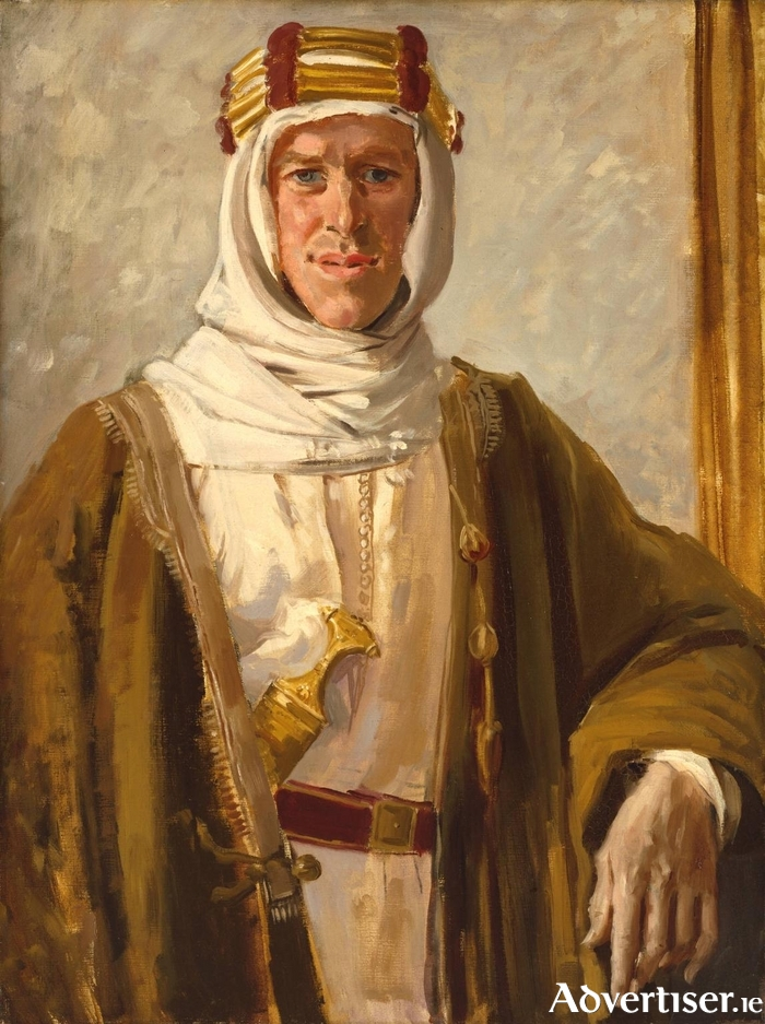 Augustus John's 1919 portrait of TE Lawrence.