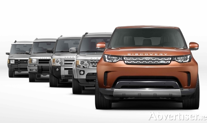 New Land Rover Discovery on the way.