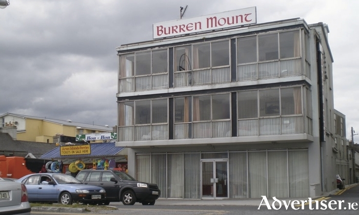The Burren Mount Hotel in Salthill.