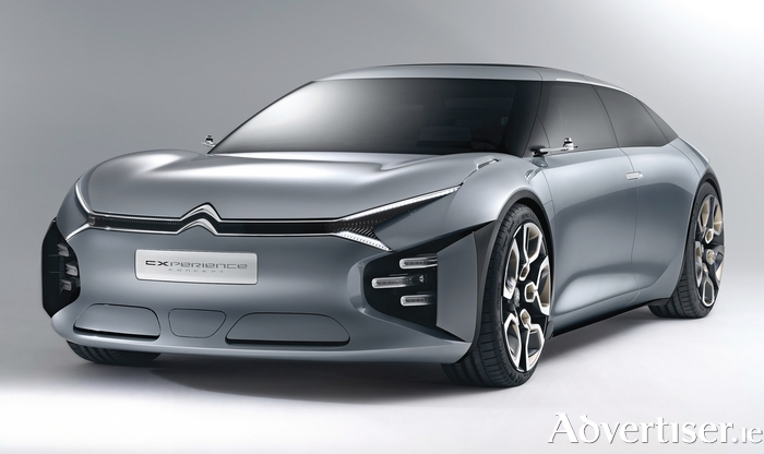 New CitroenCXperience concept car.