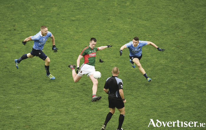When a leader was needed Cillian O'Connor stood up last Sunday. Photo: Sportsfile