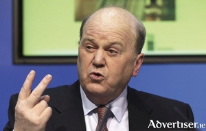 With Brexit, the Apple tax, and the demands of the Independent Alliance, Finance Minister Michael Noonan mighe be getting a tad frustrated.