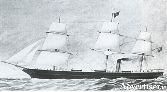 SS Circassian had a successful career with the Galway Line before becoming an unsuccessful Confederate blockade runner.