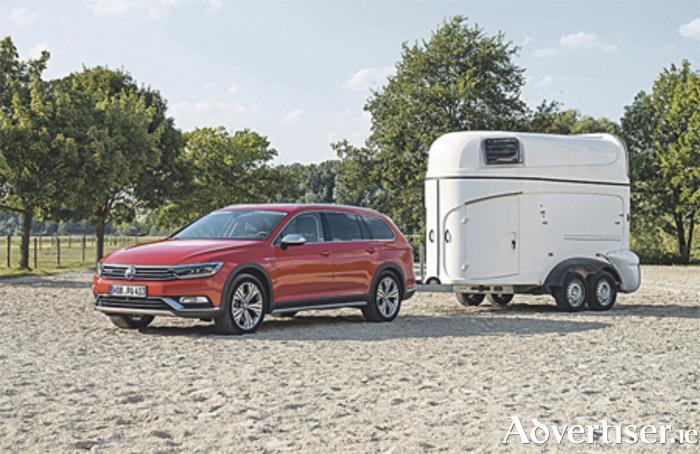 Advertiser Ie Vw Passat Alltrack Is Caravan Towcar Of The Year