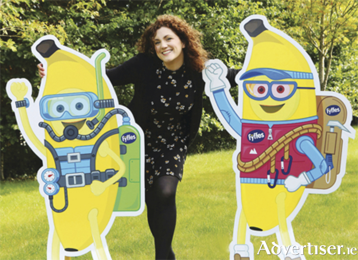 Fyffes marketing manager Emma Hunt-Duffy pictured at the launch of the company's new consumer competition entitled 'Bring Freddy On An Adventure'
