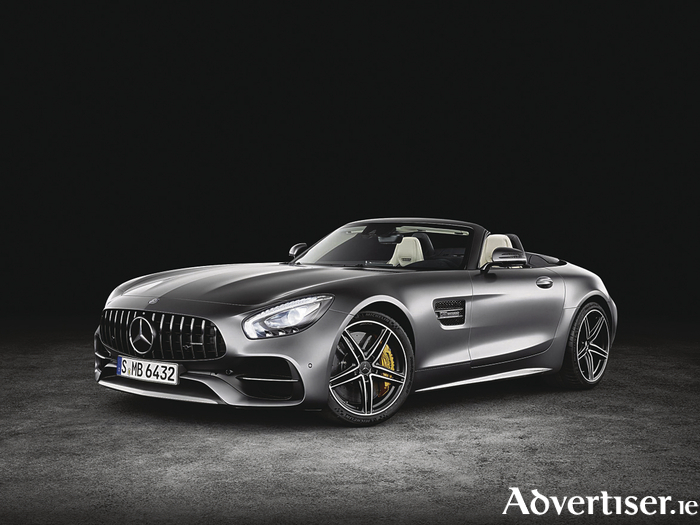 New Mercedes-AMG GT C Roadster.