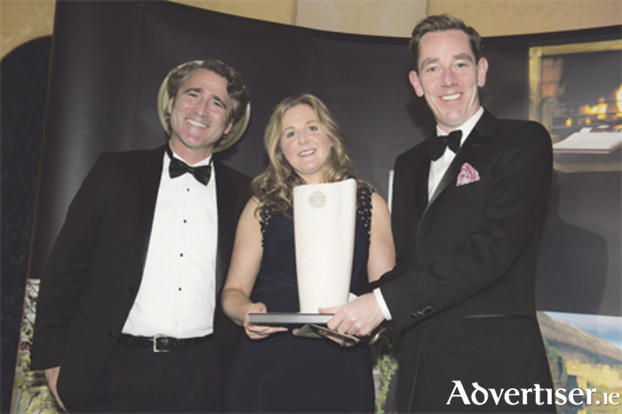 Francisco Matte, Terra Noble Wine; Ruth Conlon, Lough Rynn Castle Hotel; and Ryan Tubridy pictured at the announcement