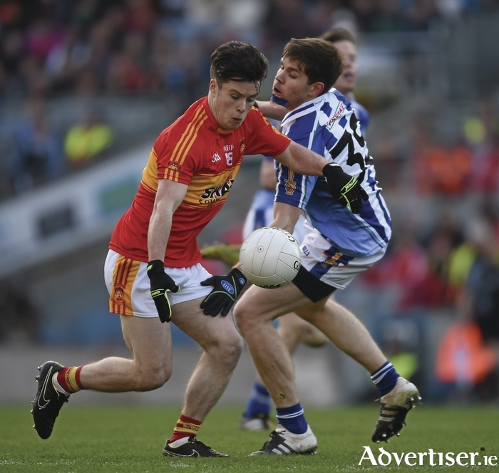 Big showing: Cian Costello put in a big performance for Castlebar Mitchels last weekend. Photo: Sportsfile
