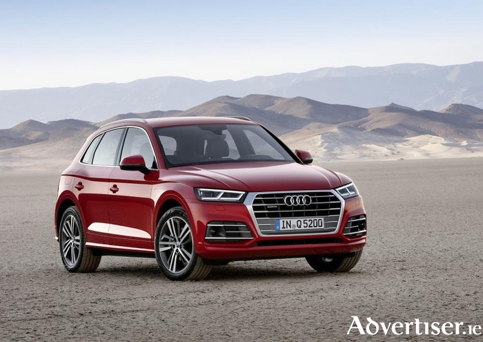 Audi's new second generation Q5 SUV.