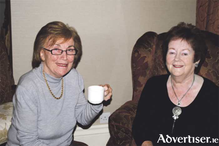 The late Ann Lenihan pictured with her sister-in-law Mary O'Rourke
