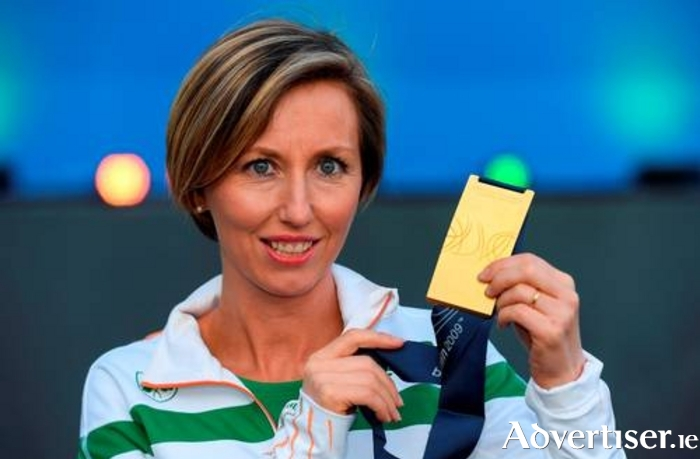Olive Loughnane will be the special guest at a reception in Loughrea in honour her winning the World Championship gold medal.