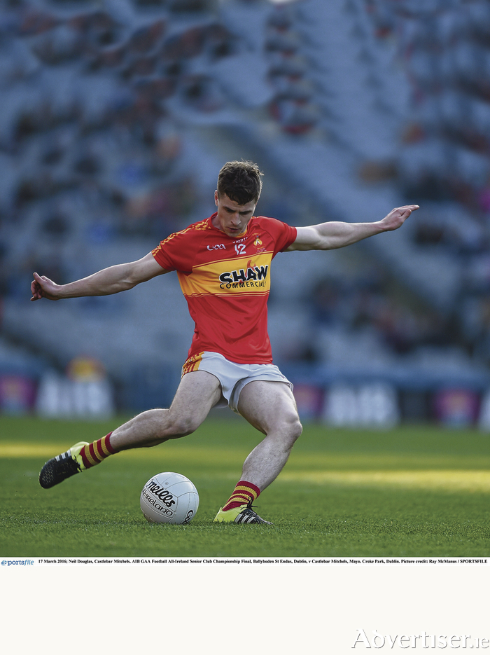 Deadly Doug: Neil Douglas has been in brilliant form for Castlebar Mitchels so far this season. Photo: Sportsfile