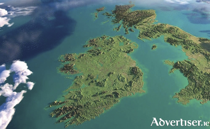 A photo of the All-Island, of the Republic of Island and Northern Ireland, just don't call it Ireland - you might offend someone!