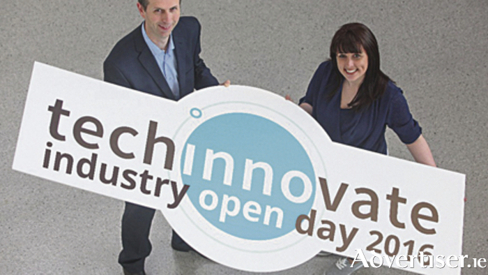 TechInnovate's John Breslin and Bank of Ireland Startlab's Tracy Keogh.