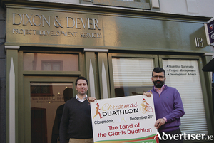 Andrew Dever and Paul Dixon of Dixon & Dever project development services, Mount St Claremorris.