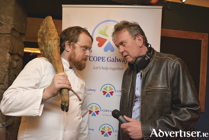 Chef and restaurateur JP McMahon and Galway nightclub stalwart Dermot 'Doc' O'Connor