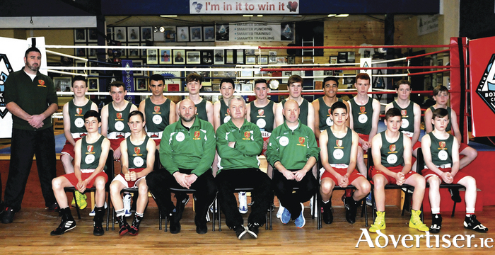 The Mayo Boxing Development Unit Team.  Photo by John O'Connor