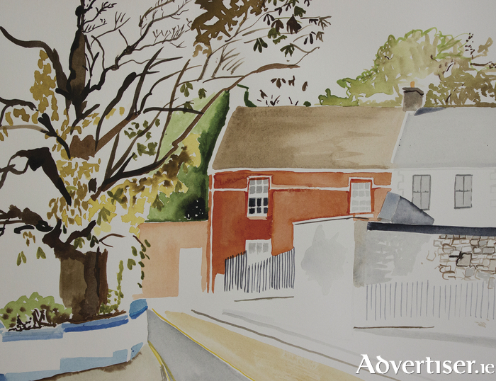 Melanie McDonagh's depiction of Sherwood Avenue, Galway city.