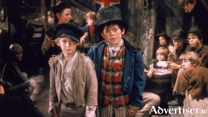 A scene from the 1968 film version of Oliver!
