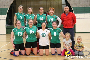 The Mayo Volleyball Club who won on the road last weekend. Photo: Lukasz Fialkowski.