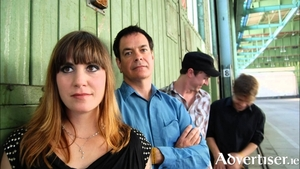 The Wedding Present, with band leader David Gedge second from left.