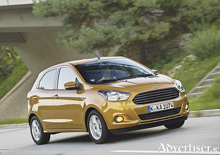 The new Ford Ka+.