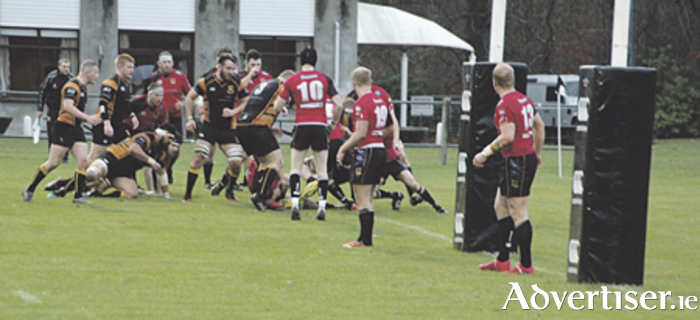 Buccaneers held up just short of the Ballymena line