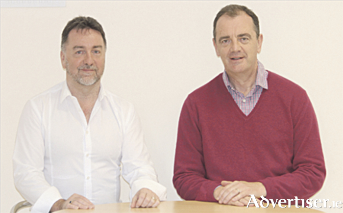 John Ryan and Dave Gleeson, founders of Blackberry Hearing