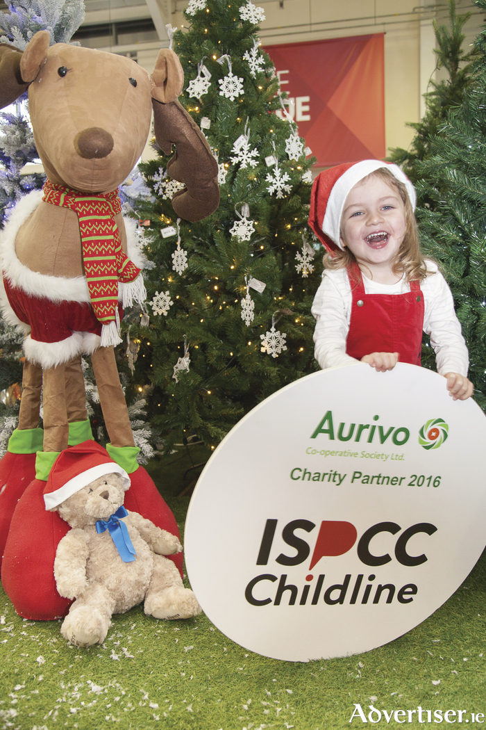Caitlin McGowan, pictured ISPCC Childline and Aurivo Charity partner launch.