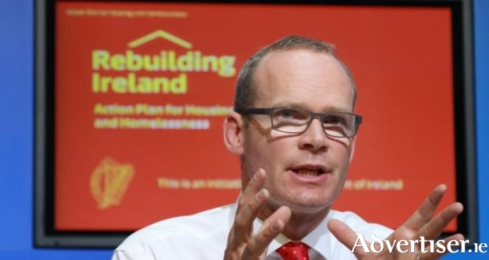 Minister of Housing Simon Coveney.