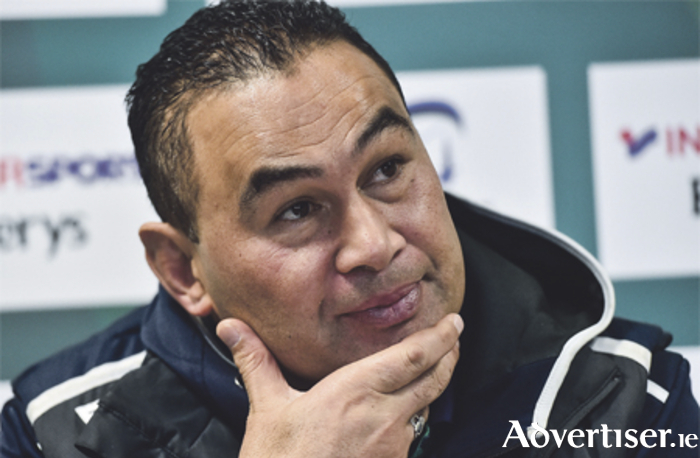 Connacht head coach Pat Lam during the press conference at the Sportsground in Galway. Photo: David Maher/Sportsfile