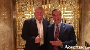 US president elect Donald Trump and Mr Brexit himself - Nigel Farage.