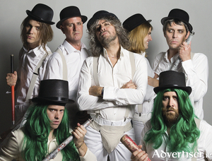 The Flaming Lips in Clockwork Orange mode.