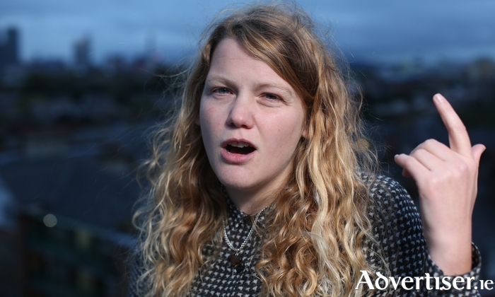 Performance poet and playwright Kate Tempest.
