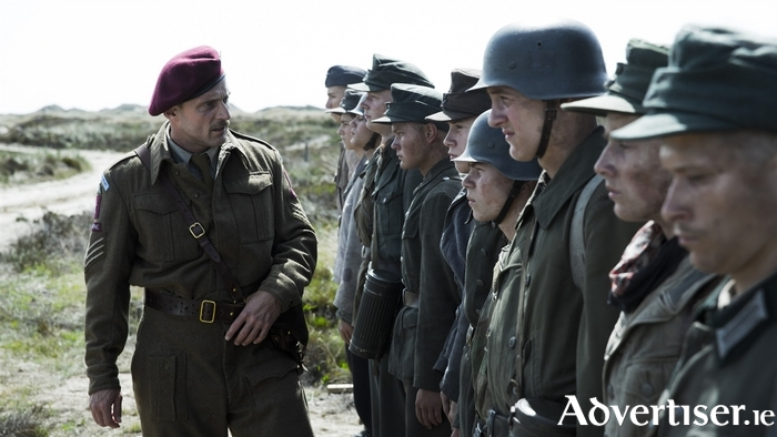 A scene from the Danish film, Land Of Mine.