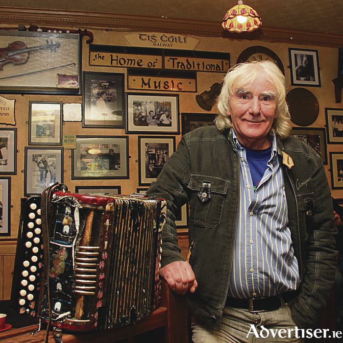 Musician Johnnie Mullins. Photo:-Mike Shaughnessy