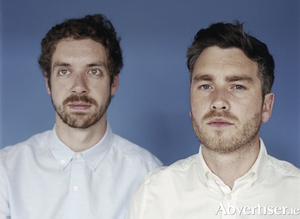 All Tvvins - Lar Kaye (guitar/synths) and Conor Adams (vocals/bass).