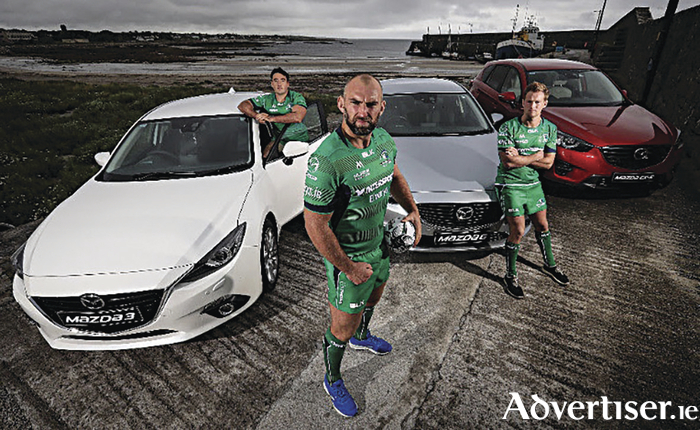 Mazda continue to drive Connacht Rugby.