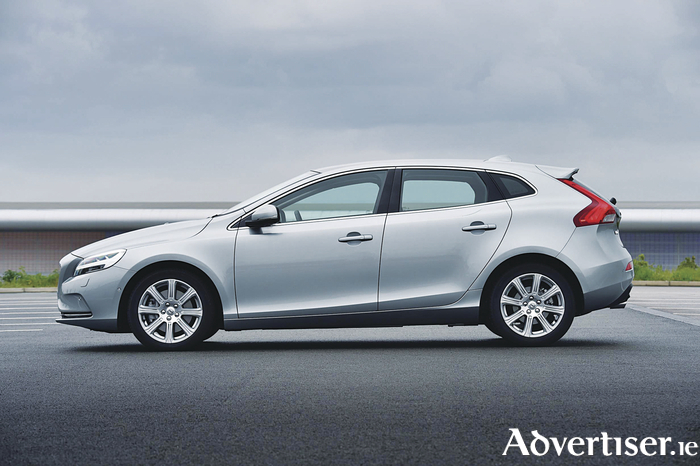 The new Volvo V40.