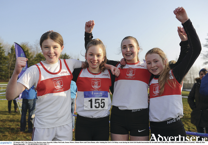 Galway Youngsters Shine At National Relay