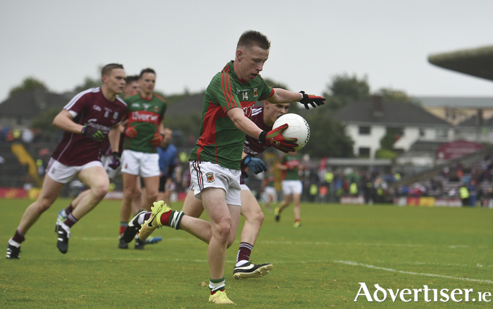Belmullet's Ryan O'Donoghue was in top form for Mayo. Photo: Sportsfile