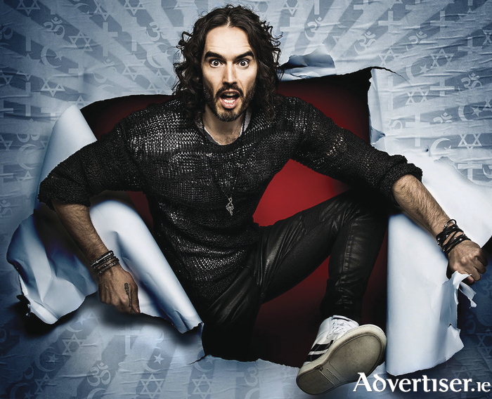 Russell Brand is brining his RE:BIRTH show to Galway in 2018.