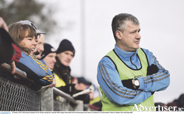 Roscommon manager Kevin McStay. Photo: Stephen McCarthy/Sportsfile